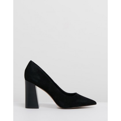 Boom Black Kid Suede by Siren