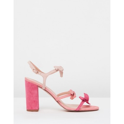 Bow Stella Sandals Wild Fuchsia by J.Crew
