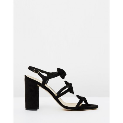 Bow Stella Sandals Black by J.Crew