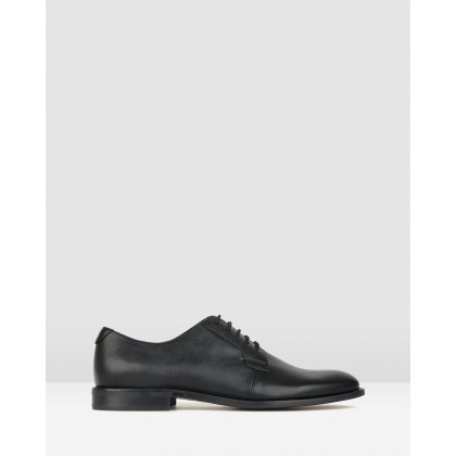 Brake Derby Dress Shoes Black by Betts