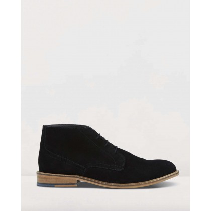 Braxton Boots Black by Oxford