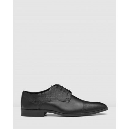 Brayson Lace Up Shoes Black by Aq By Aquila