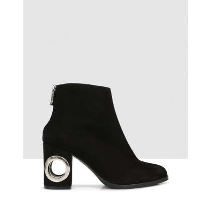 Brea Ankle Boots Black by Sempre Di