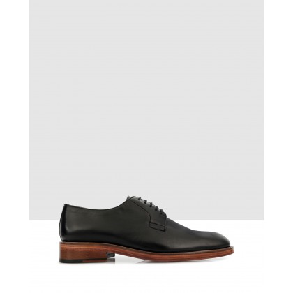 Brent Lace Ups Black by Brando