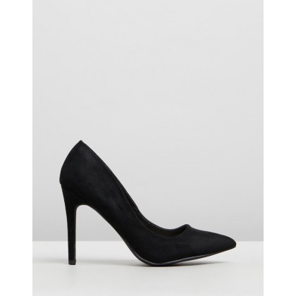 Brigitte Black Suede by Therapy