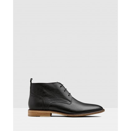 Brinton Boot Black by Aquila