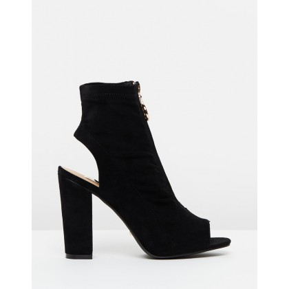 Brodie Black Suede by Billini