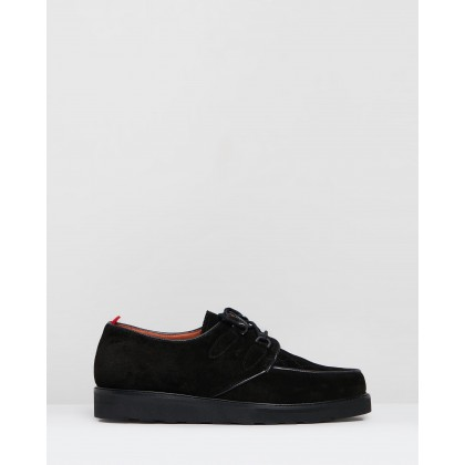 Brothel Creeper Black Suede by Oliver Spencer