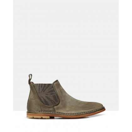 Burdon Ankle Boots Militare by Brando