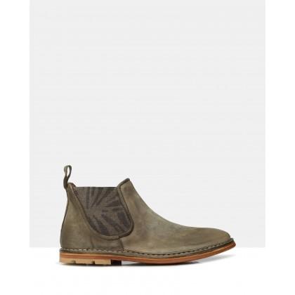 Burdon Ankle Boots Militare by Brando