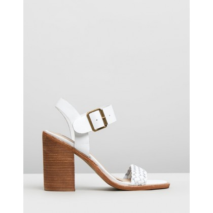 Cadence White Leather by Steve Madden