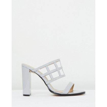 Caged Sandal Lily White by Mode Collective