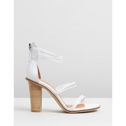 Caitie White Nubuck by Alias Mae