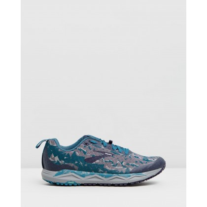 Caldera 3 - Men's Blue, Grey & Navy by Brooks