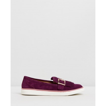 Cambridge Slip On Loafers Merlot by Vionic