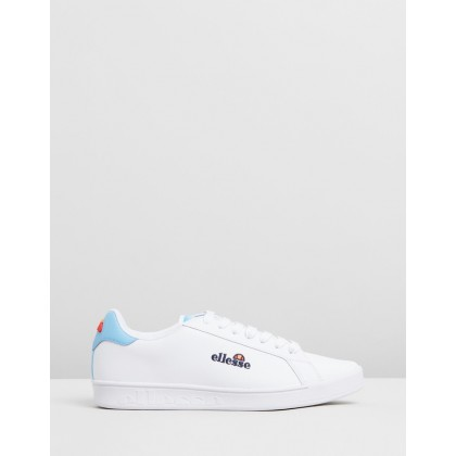 Campo Sneakers White & Alaskan Blue by Ellesse