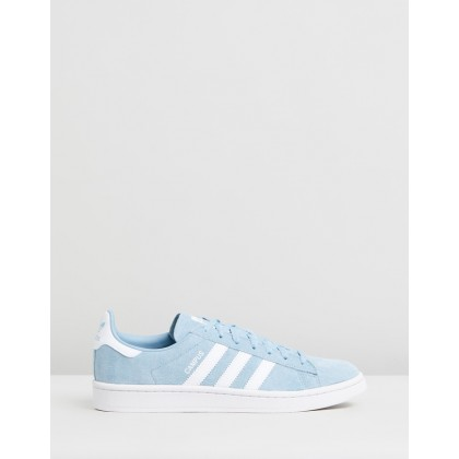 Campus - Women's Ash Grey, FTWR White & Crystal White by Adidas Originals