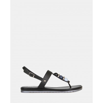Canberra Sandals Nero by S By Sempre Di