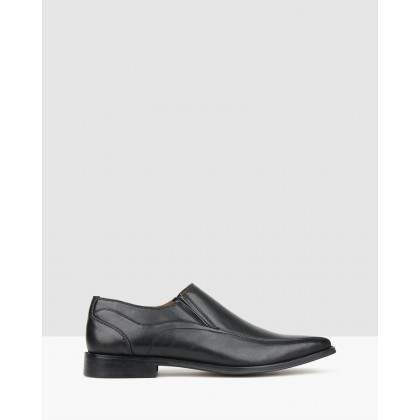 Canter Slip On Dress Shoes Black by Betts