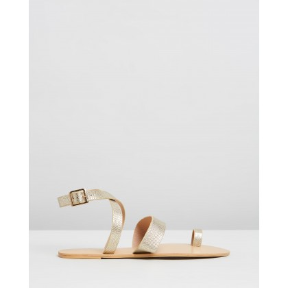 Cara Light Gold Snake by Billini
