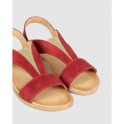 Caracas Sandals Red by S By Sempre Di