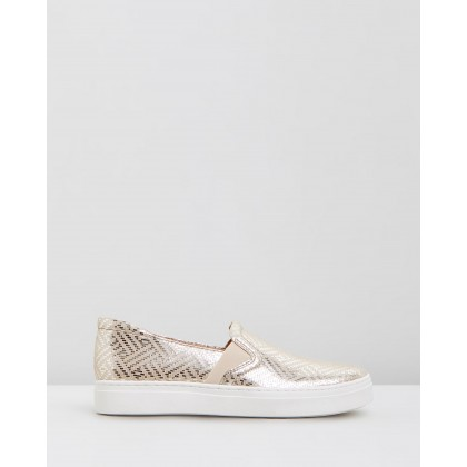 Carly Light Gold Woven by Naturalizer