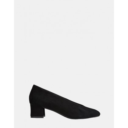 Carmen BLACK SUEDE by Easy Steps