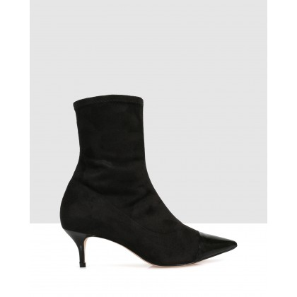 Carmen Ankle Boots Black by S By Sempre Di