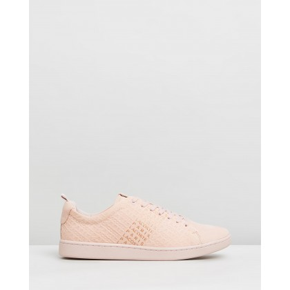 Carnaby Evo 319 10 - Women's Natural & Gold by Lacoste