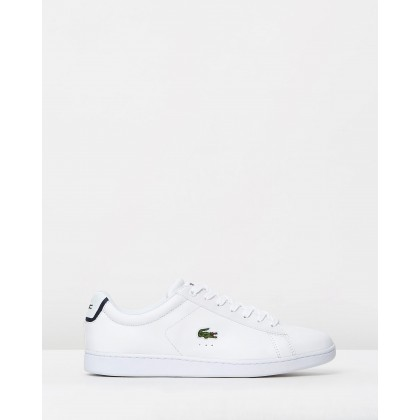 Carnaby Evo BL 1 - Men's White/Black by Lacoste