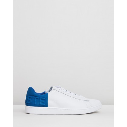 Carnaby Evo - Men's White & Blue by Lacoste