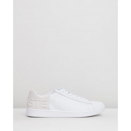 Carnaby Evo - Men's White & Off White by Lacoste