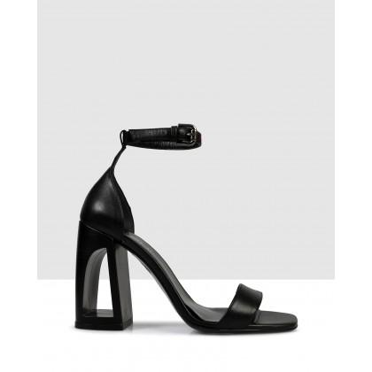 Caronie Sandals Black by Sempre Di
