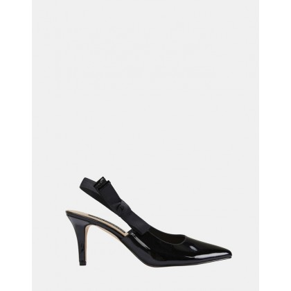 Casandra BLACK PATENT by Jane Debster