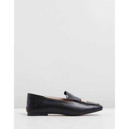 Casandra Leather Loafers Black by Walnut Melbourne