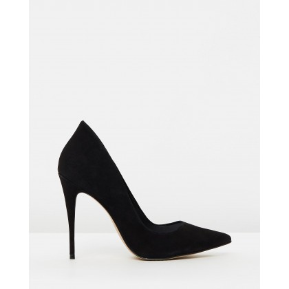 Cassedy Black Nubuck by Aldo