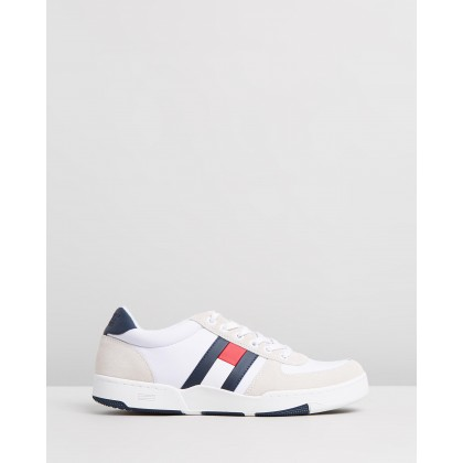 Casual Basket Sneakers Red, White & Blue by Tommy Jeans
