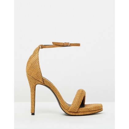 Celeste Heels Tobacco by Camilla And Marc