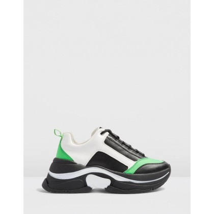 Celina Chunky Trainers Multi by Topshop