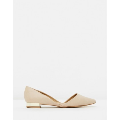 Celina Flats Nude Smooth by Spurr