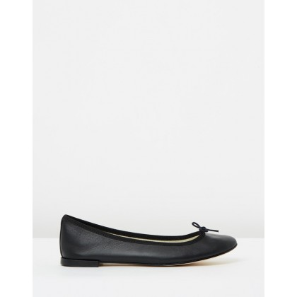 Cendrillon Black Nappa Calfskin by Repetto