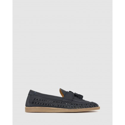 Challenge Slip On Huaraches Navy by Zu