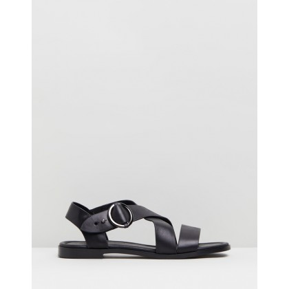 Chase Sandals Black by Walnut Melbourne