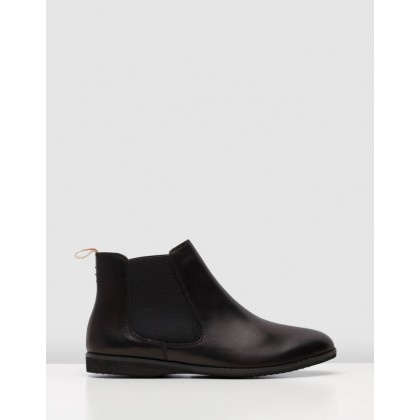 Chelsea Boots All Black by Rollie