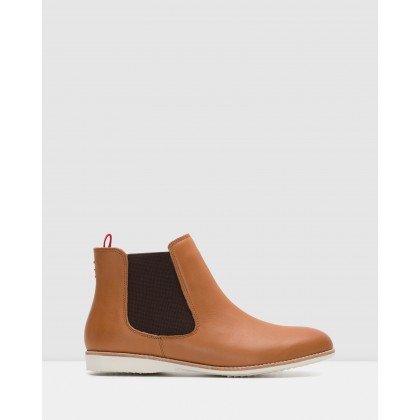 Chelsea Boots Cognac Burnish by Rollie