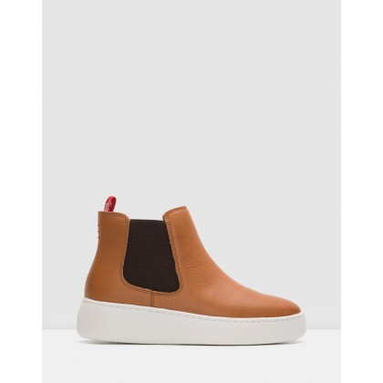 Chelsea City Boots Cognac by Rollie