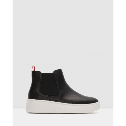 Chelsea City Boots Black by Rollie