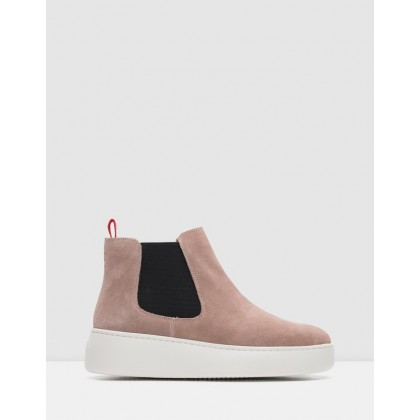 Chelsea City Boots Dusty Rose by Rollie