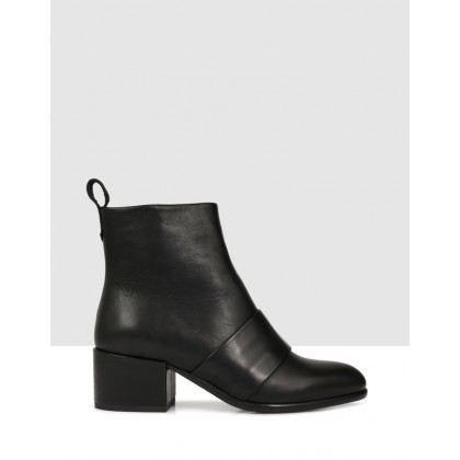 Chester Ankle Boots Black by Beau Coops
