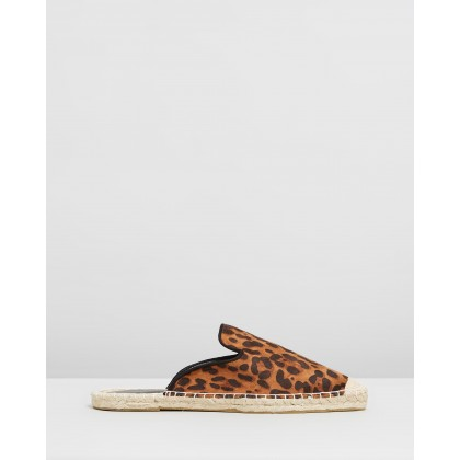 Chicago Espadrilles - Wide Fit Animal by Dorothy Perkins